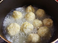 150614冷凍豆腐の肉団子11