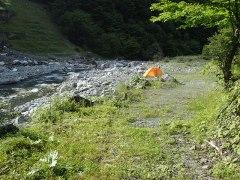 160807三峰川キャンプ村帰還