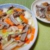 ヌメリササタケの八宝菜とシラスおろし|きのこ料理
