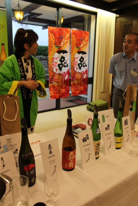 Sake marketing at Sydney Consulate