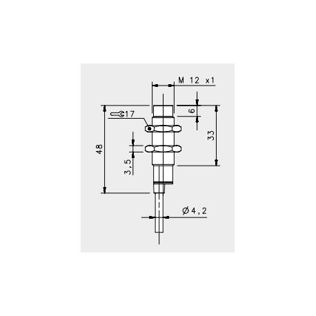 IS-12-H1-03 induсtive sensor, 10-30DC, \