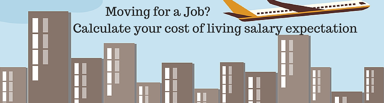 Cost of Living calculator Cost of living comparison - Human