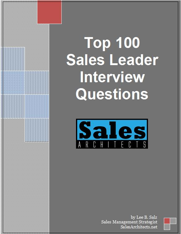 Resources Sales Architects - sales team leader interview questions