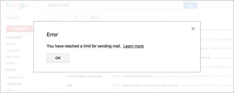 Gmail Sending Limits All you need to know Updated