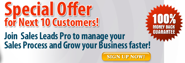 Sales Leads Pro - Sales Leads Management System - Instant online - how to manage sales leads