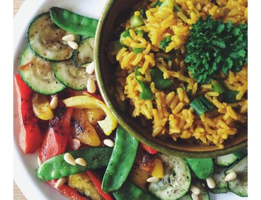 kurkuma rijst