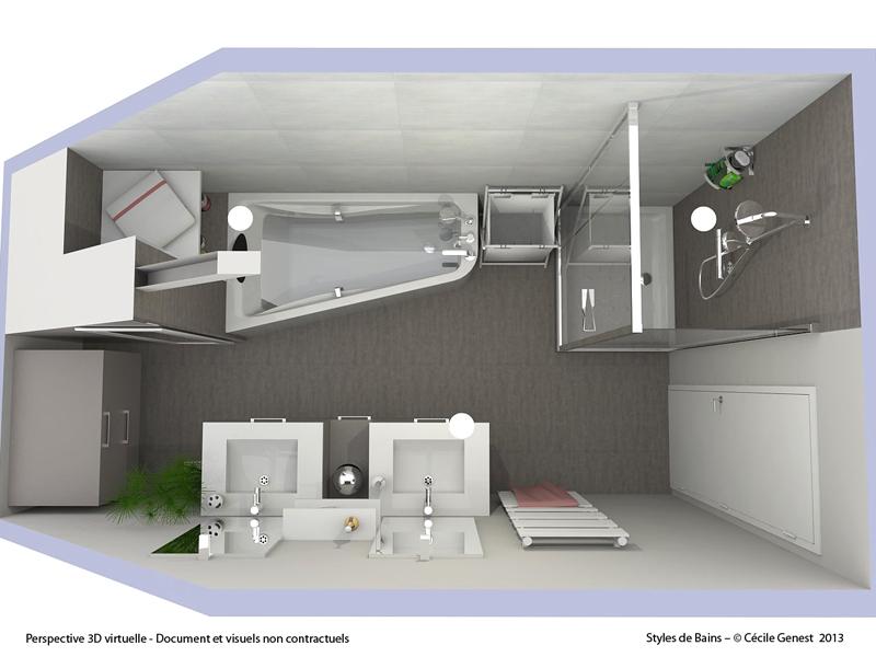Salle de Bain Rennes - NOS REALISATIONS en rénovation et création