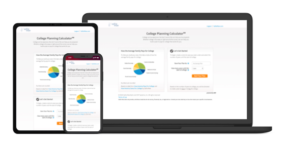 College Planning Calculator - Create a plan to save and pay for