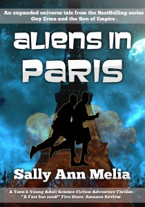 Aliens in Paris by Sally Ann Melia