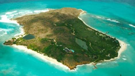 Aerial shoot - Necker Island