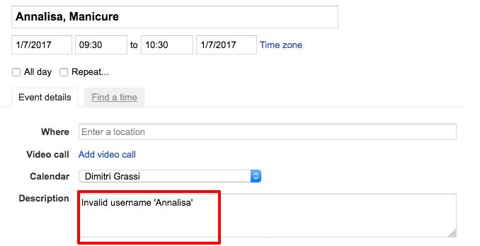 Google Calendar Booking System Google Calendar Salon Booking Plugin Introduces Google Calendar Two Ways Sync