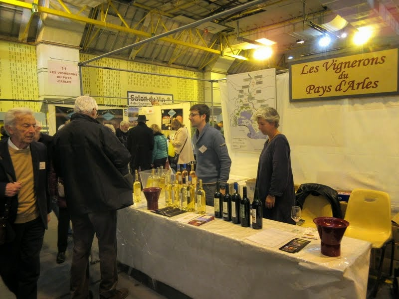 Salon du vin et des gourmets arles les vignerons du for Salon arles