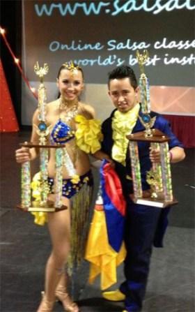 Alex Ivonne Colombian Salsa Champions