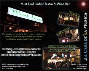 Mint Leaf Salsa