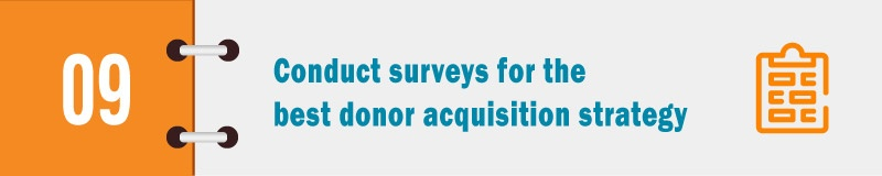 Your Donor Acquisition Process 14 of the Best Practices - acquisition strategy