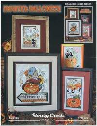 Haunted Halloween by Stoney Creek - Cross Stitch Kits ...