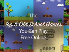 Top 5 classic games online