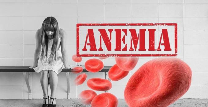 La deficiencia de hierro Anemia