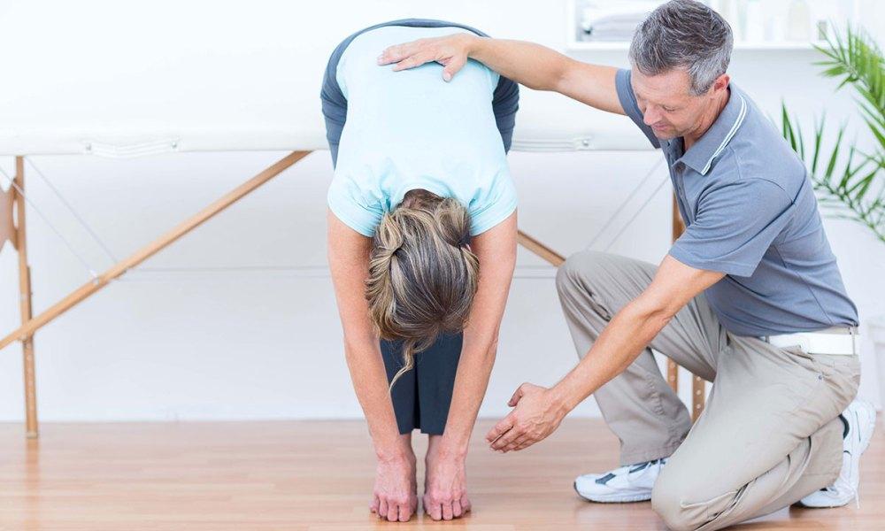 Prevenir la osteoporosis: Ejercicios para la columna
