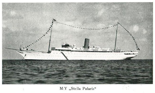 Foto della nave da crociera Stella Polarsi dal sito di Duncan McLaren