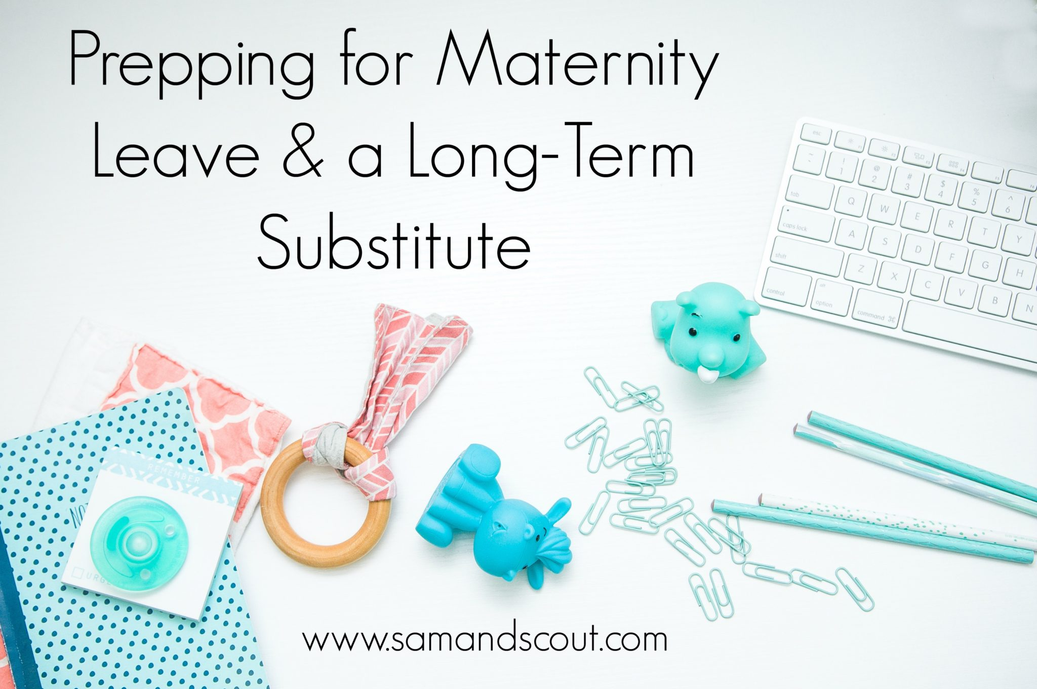 reader advice on maternity leave and prepping for a