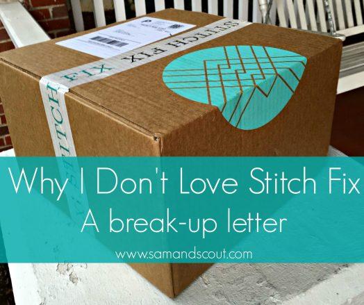 Stitch Fix Break Up