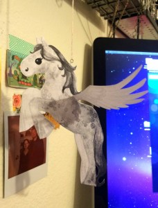 Samantha George flutter pony mock up