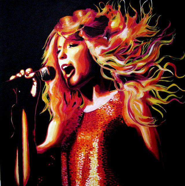 """SOLD: Taylor Swift 30""""x30"""""""