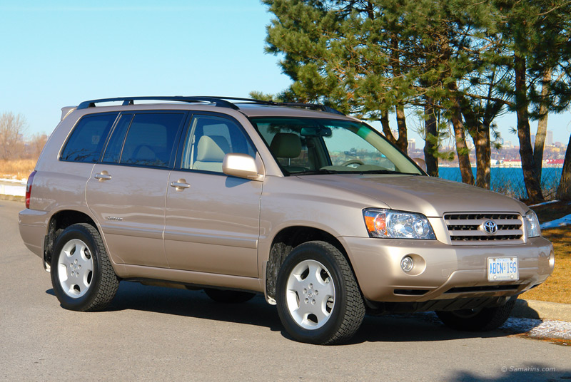 Toyota Highlander 2001-2007 common problems, maintenance, fuel