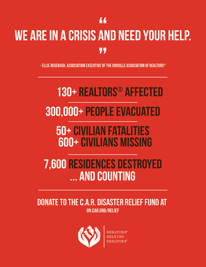 California Wildfires CAR Disaster Relief Fund Ready to Assist