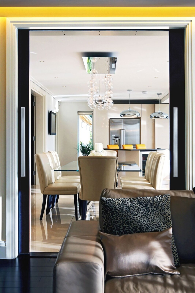 Dining Lighting by Sam Coles Lighting