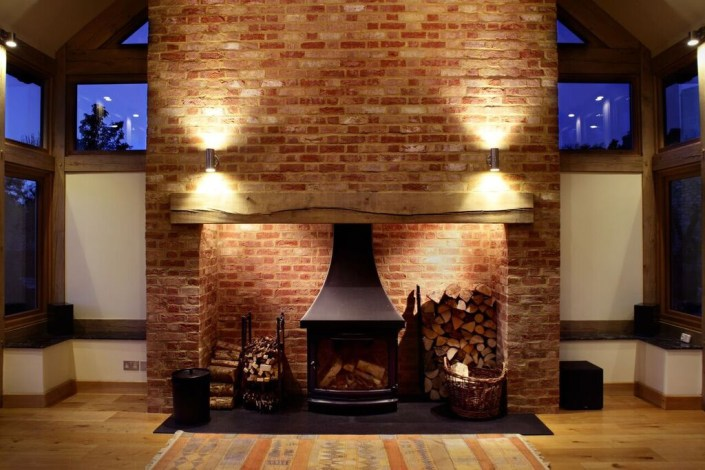 Fireplace lighting by Sam Coles Lighting 05