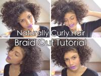 Natural Hair Curly Afro Tutorial | hairstylegalleries.com