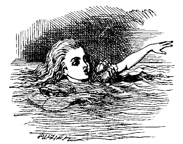 ALICE POOL OF TEARS