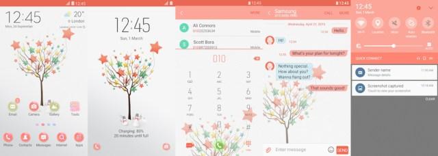 Samsung Galaxy Theme - [FEIT] Star Tree