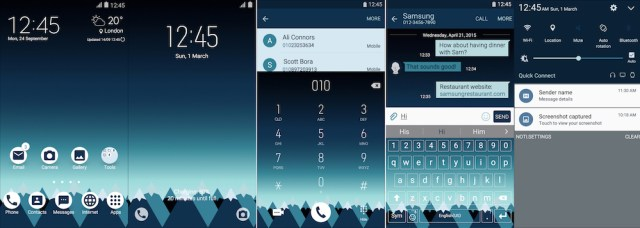 Samsung Galaxy Theme - Material Mountains - Paid