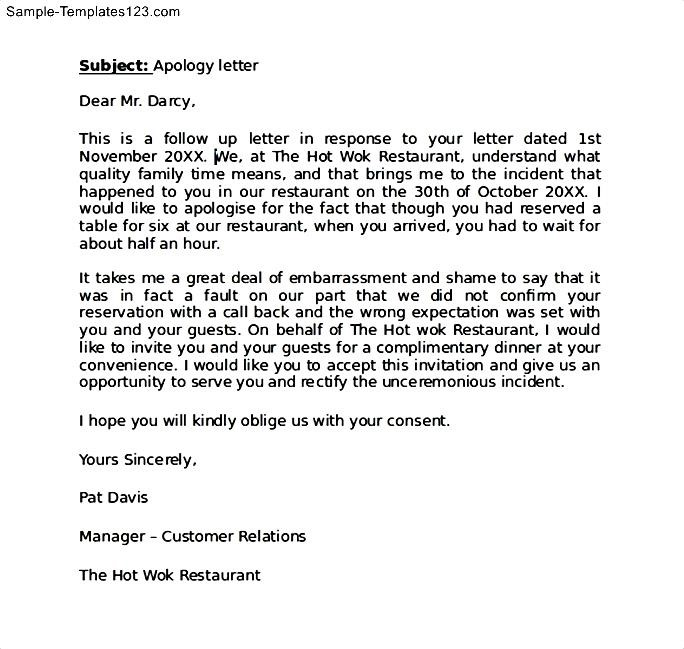 very late reply to customer sample apology letter to boss formal