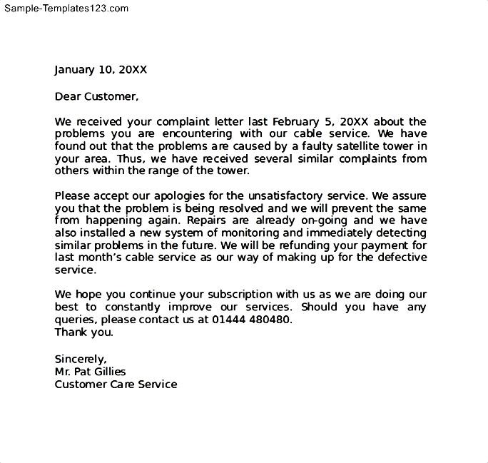 How To Write A Letter To Customer For Apology Choice Image - Letter