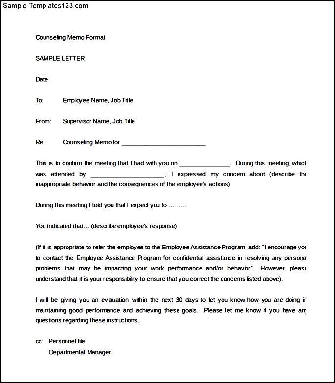 Disciplinary Memo Template - Resume Template Sample - confidential memo template