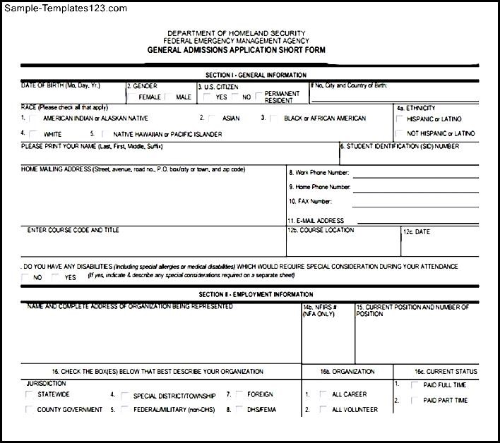 fema application form - Wwwquotidian - fema application form