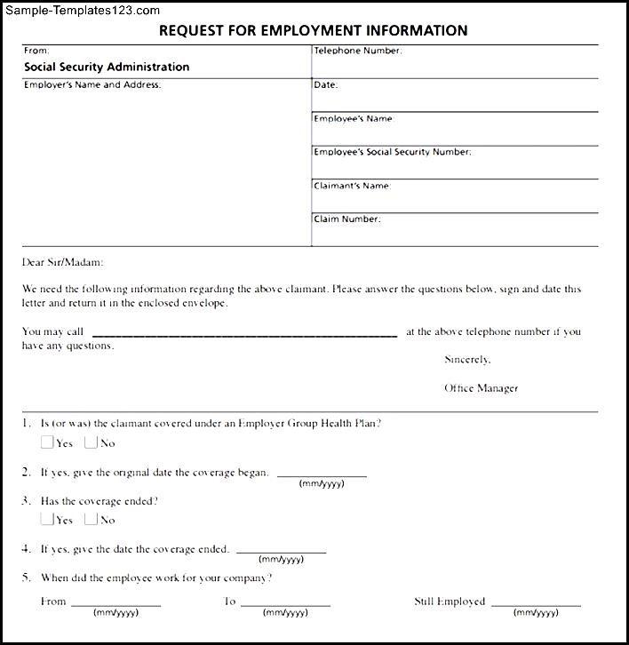 Employment Verification Form Pdf - intellego - employee verification form