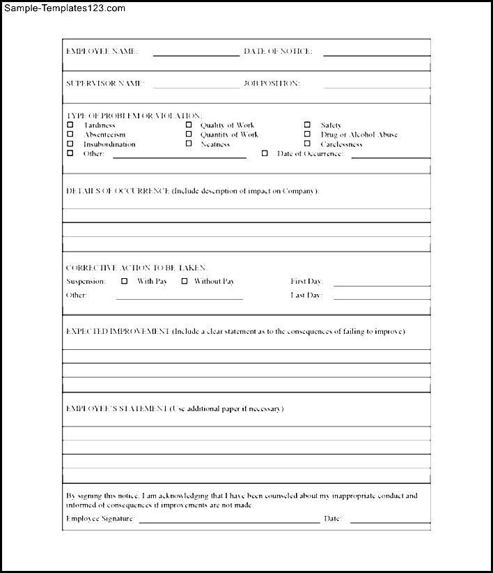employee insubordination write up form - Alannoscrapleftbehind - employee write up form