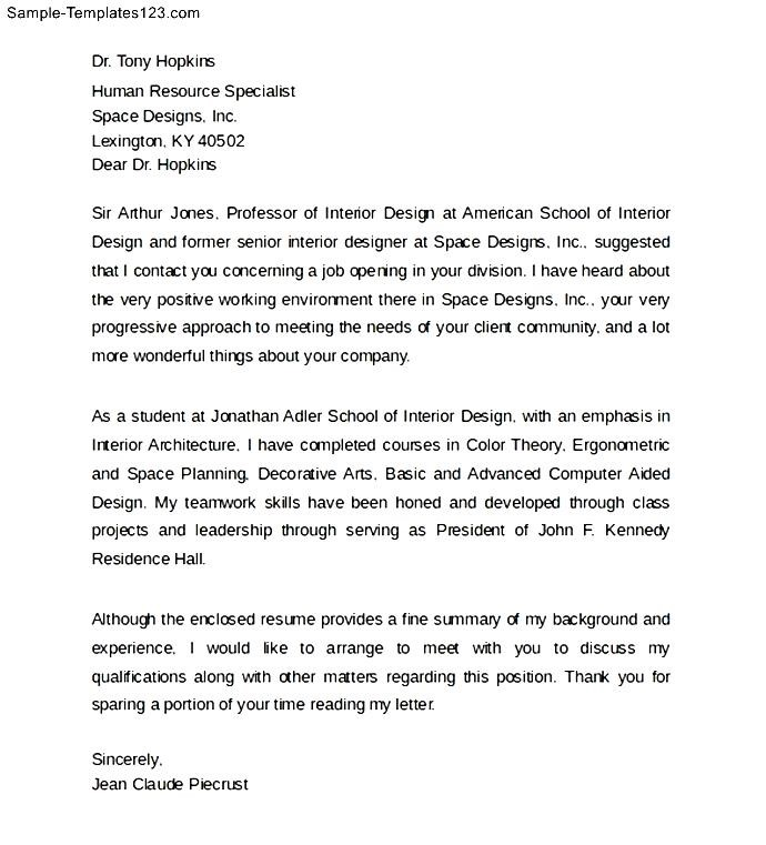letter format template for students - Minimfagency - cover letters format