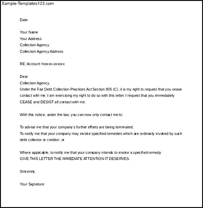 How To Write Cease And Desist Letter Images - Letter Format Formal - cease and desist letter template