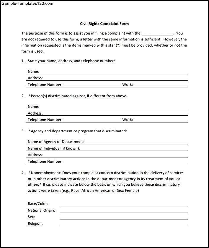 Sample Civil Complaint Form Legal Forms Of Philippines Civil Civil Complaint  Template .