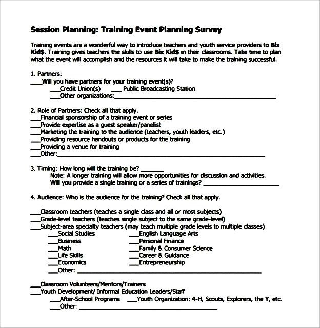 Top Result 60 Beautiful Conference Survey Template Photos 2017 Iqt4 - sample training survey