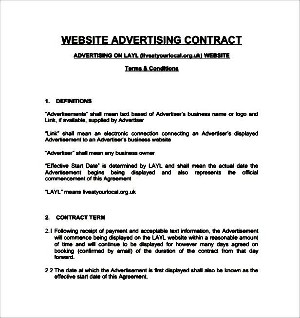 Top Result 60 Elegant Advertising Contract Template Photos 2017 Kdh6 - Advertising Contract Template