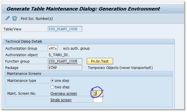 Table Maintenance Generator Auto recording changes  Technical setting SAP SE11