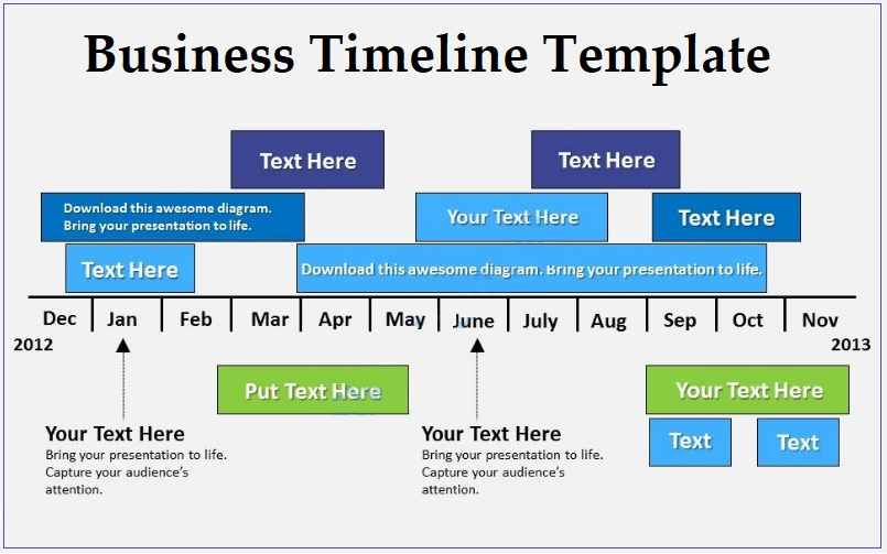 Business Timeline Templates 4+ Free Word, PDF and Excel - sample business timeline