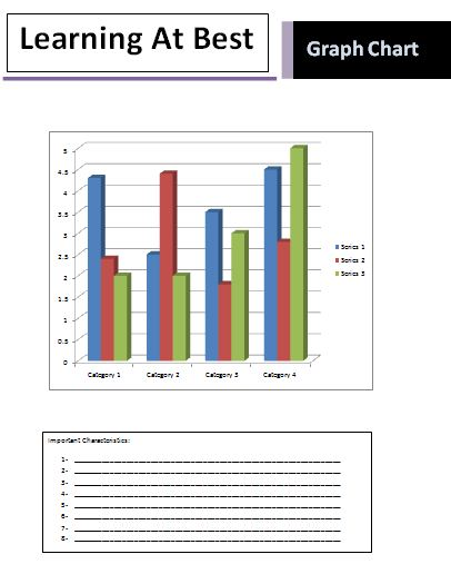 Graph Chart Templates 3+ Printable PDF, Excel  Word - graph chart templates
